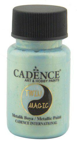Cadence Twin Magic metallic verf groenblauw 01 070 0006 0050 50 ml (03-21)