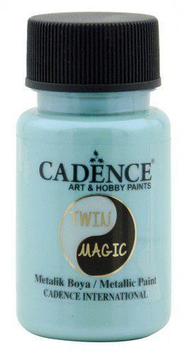 Cadence Twin Magic metallic verf blauwgroen 01 070 0011 0050 50 ml (03-21)
