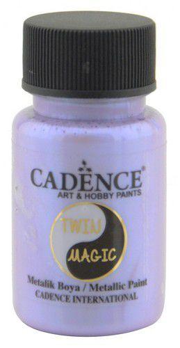 Cadence Twin Magic metallic verf blauwpaars 01 070 0012 0050 50 ml (03-21)