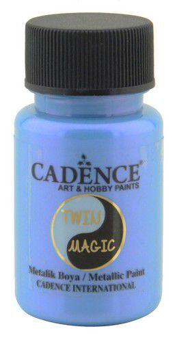 Cadence Twin Magic metallic verf paarsblauw 01 070 0013 0050 50 ml (03-21)