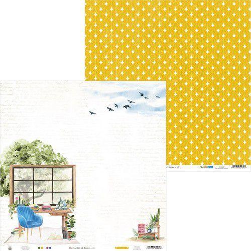 Piatek13 - Paper Garden of Books 01 P13-GAR-01 12x12 (02-21)
