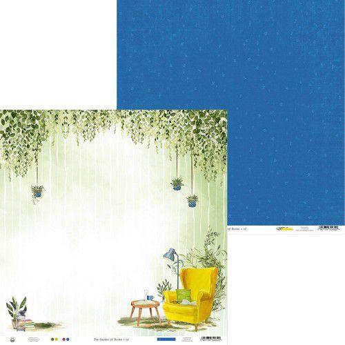 Piatek13 - Paper Garden of Books 02 P13-GAR-02 12x12 (02-21)