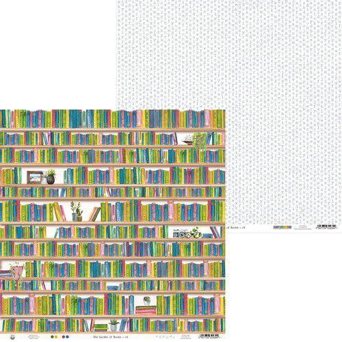 Piatek13 - Paper Garden of Books 04 P13-GAR-04 12x12 (02-21)
