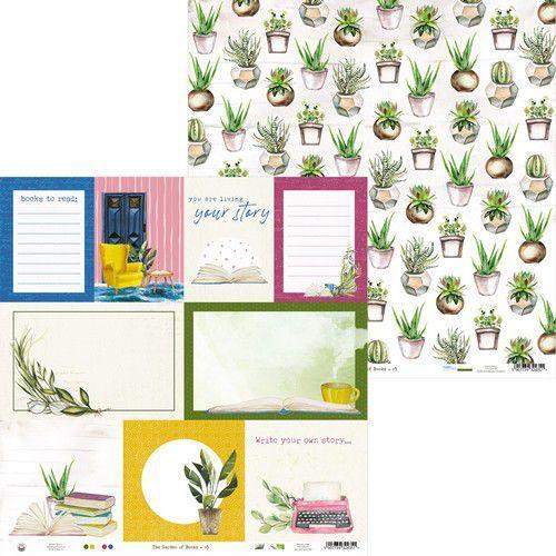 Piatek13 - Paper Garden of Books 05 P13-GAR-05 12x12 (02-21)