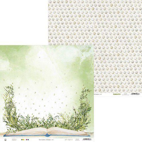 Piatek13 - Paper Garden of Books 06 P13-GAR-06 12x12 (02-21)