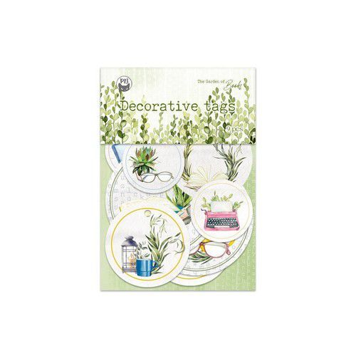 Piatek13 - Tag set Garden of Books 01 P13-GAR-21 (02-21)