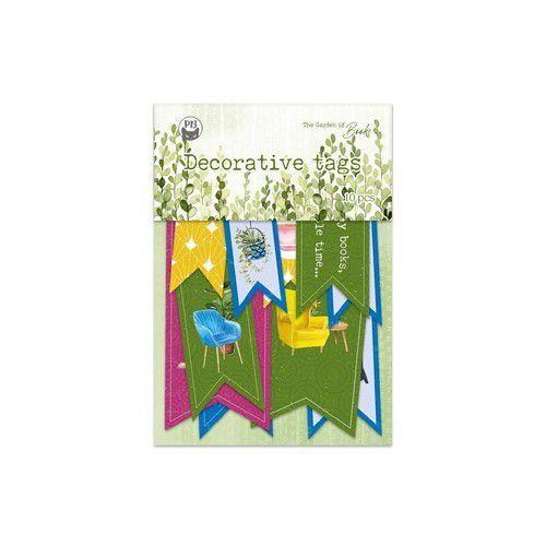 Piatek13 - Tag set Garden of Books 02 P13-GAR-22 (02-21)