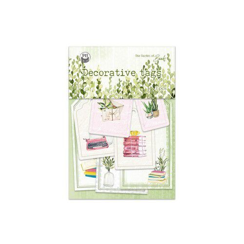 Piatek13 - Tag set Garden of Books 03 P13-GAR-23 (02-21)