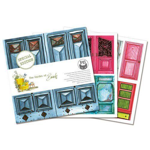 Piatek13 - Paper pad Garden of Books, 6x6'' P13-GAR-10 (02-21)