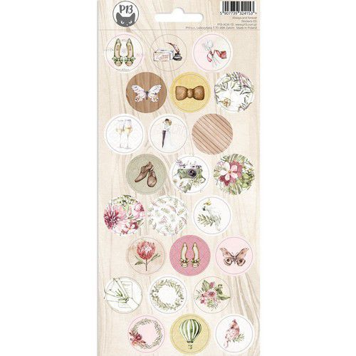 Piatek13 - Sticker sheet Always and forever 03 P13-ALW-13 10,5x23cm (02-21)