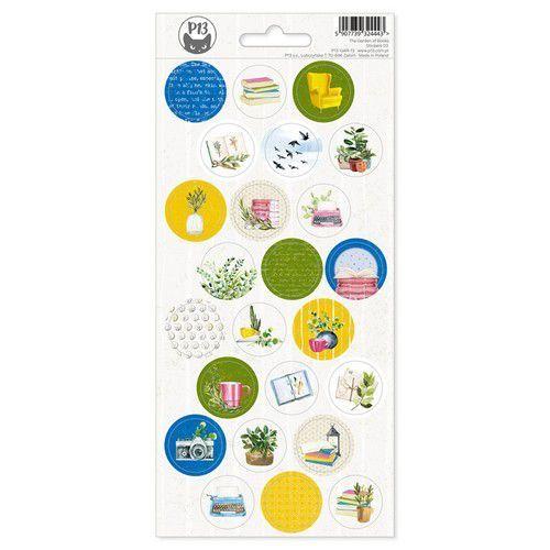Piatek13 - Sticker sheet Garden of Books 03 P13-GAR-13 10,5x23cm (02-21)