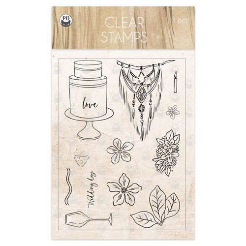 Piatek13 - Clear stamp set Always and forever 01 P13-ALW-30 (02-21)
