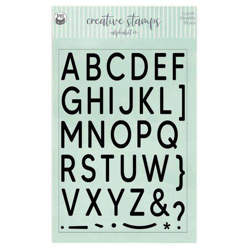 Piatek13 - Clear stamp set Alphabet 01 P13-CST-06 A5 (02-21)