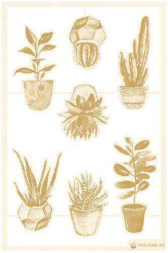 Piatek13 - Chipboard embellishments Garden of Books 02 P13-GAR-44 (02-21)