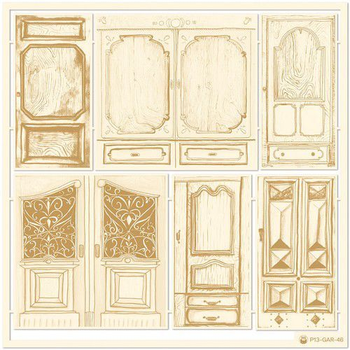 Piatek13 - Chipboard embellishments Garden of Books 04 P13-GAR-46 (02-21)