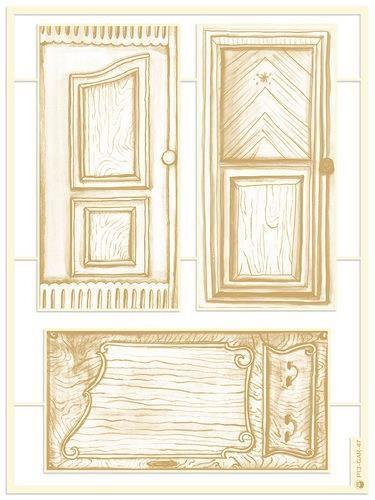 Piatek13 - Chipboard embellishments Garden of Books 05 P13-GAR-47 (02-21)