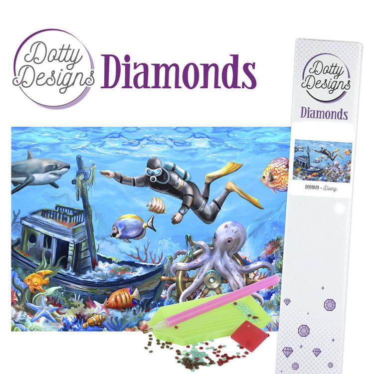 Dotty Designs Diamonds - Diving