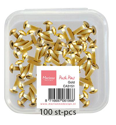 Push Pins - Gold