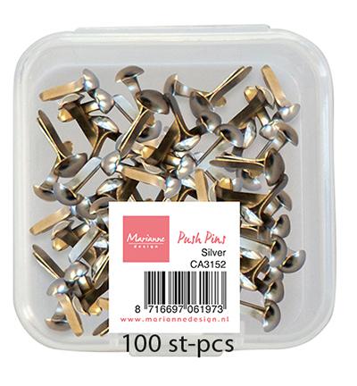 Push Pins - Silver