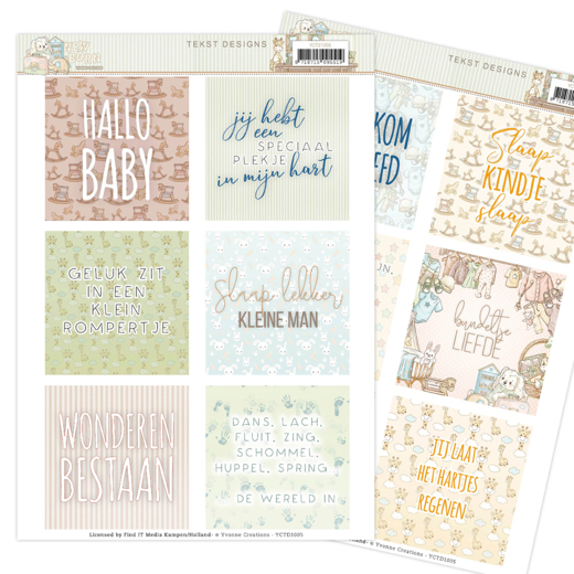 Tekst Designs - Yvonne Creations - Newborn