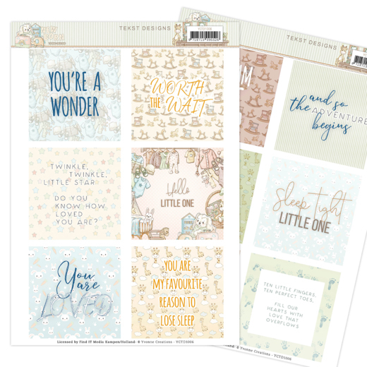 Text Designs - Yvonne Creations - Newborn