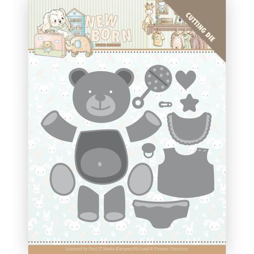 Dies - Yvonne Creations - Newborn - Build Up Bear