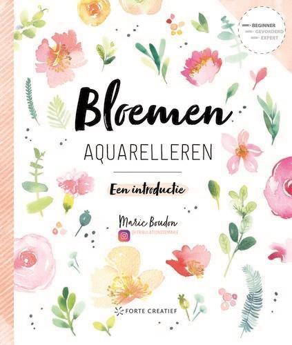 Forte Boek - Bloemen aquarelleren Marie Boudon (04-20)