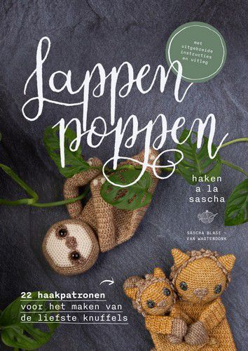 Kosmos Boek - Lappenpoppen haken à la Sascha Blase-Wagtendonk (06-20)