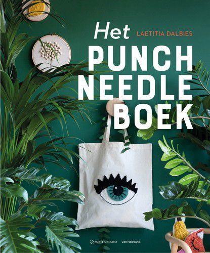 Forte Boek - Het punch needle boek Laetitia Dalbies (09-20)