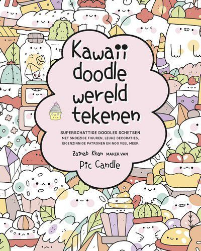 Kosmos Boek - Kawaii doodle wereld tekenen Zainab Khan (01-21)