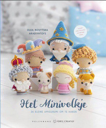 Forte Boek - Het Minivolkje Olka Novytska (12-20)