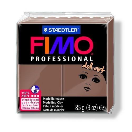 Fimo Professional Doll art 85g ondoorz. hazelnoot 8027-78