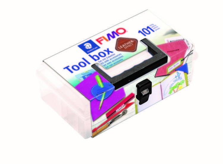 Fimo leather-effect tool box