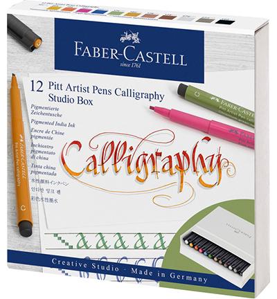 Tekenstift Faber-Castell Pitt artist kalligrafieset Studiobox