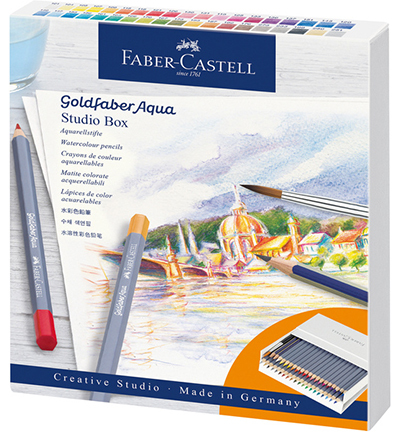 Aquarelpotlood Faber-Castell Goldfaber studiobox