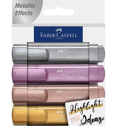 Tekstmarker Faber-Castell metallic