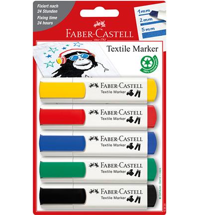 Textielmarkers Faber-Castell