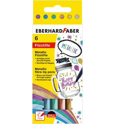 Viltstiften Eberhard Faber Metallic