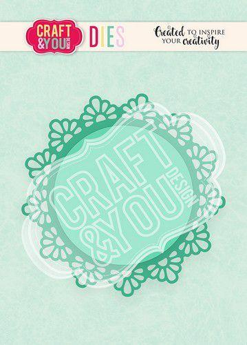 Craft&You Cutting Die Doily 1 CW103 (02-21)