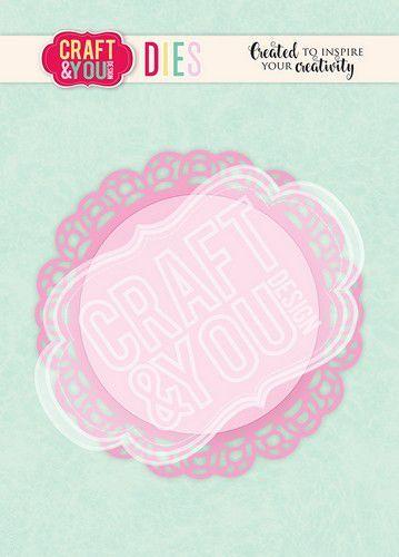 Craft&You Cutting Die Doily 3 CW105 (02-21)