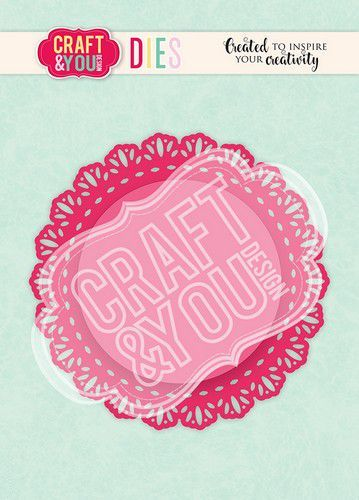 Craft&You Cutting Die Doily 4 CW106 (02-21)