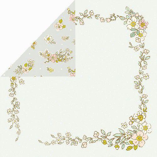 Craft&You Hopping Bunnies Scrapbooking single paper 12x12 CP-HBU05 (02-21)