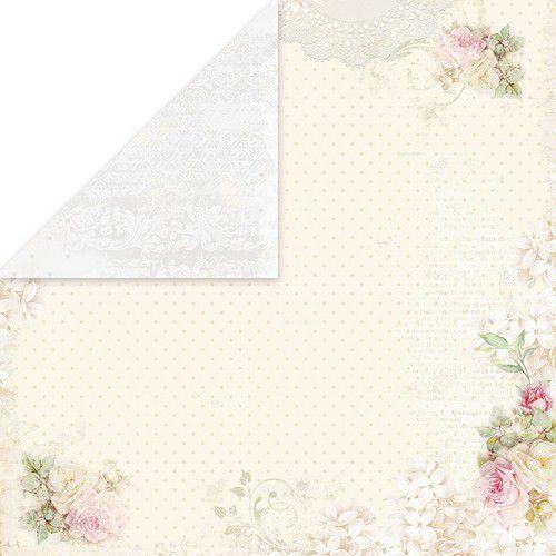 Craft&You Flower Romance Scrapbooking single paper 12x12 CP-FR01 (02-21)