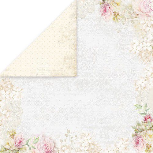 Craft&You Flower Romance Scrapbooking single paper 12x12 CP-FR02 (02-21)