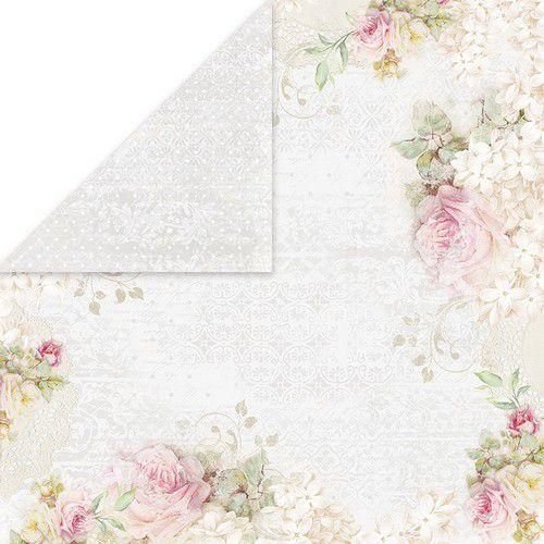 Craft&You Flower Romance Scrapbooking single paper 12x12 CP-FR05 (02-21)