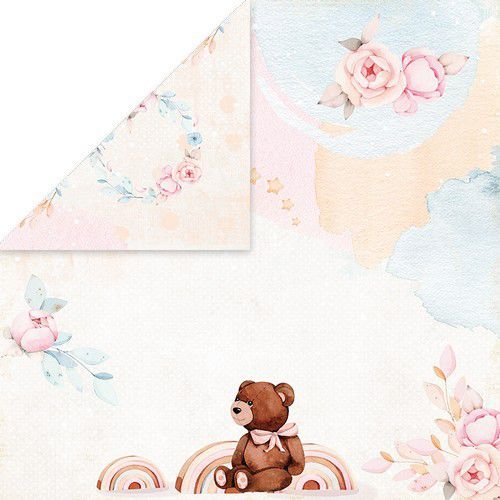 Craft&You Baby Toys Scrapbooking single paper 12x12 CP-BT03 (02-21)