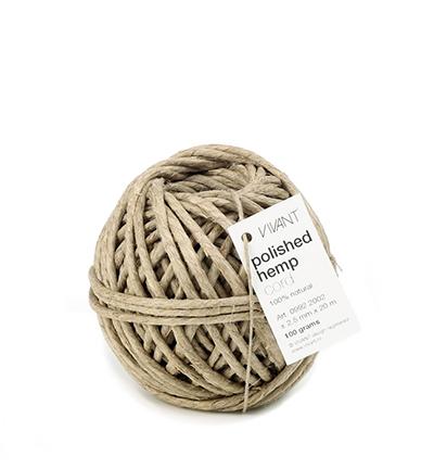 Cords Polished Hemp, Beige/naturel