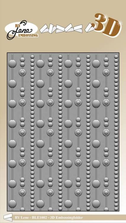 By Lene Dots 3D Embossing Folder
