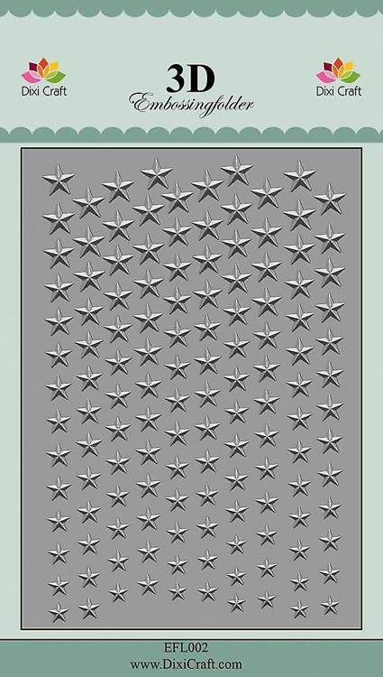 Dixi Craft Stars 2 reliëf map