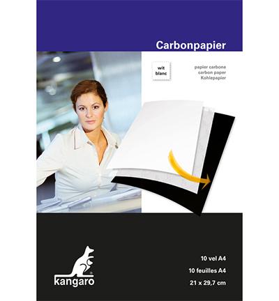 Carbonpapier wit